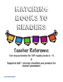 Matching Books to Readers: Teacher Ultimate Reference to F