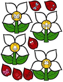 Matching Bug Flowers
