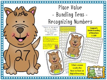 Place Value - Building 10 - Bundle's Bones