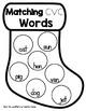 Matching CVC Words {Freebie}