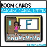 Matching Capital Letters BOOM CARDS