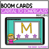Matching Capital to Lowercase Letters BOOM CARDS
