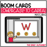 Matching Lowercase to Capital Letters BOOM CARDS