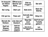 Matching Card Game - German Classroom Expressions