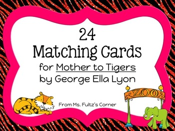 Matching Cards for Mothers to Tigers