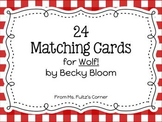 Wolf! Matching Vocabulary Cards
