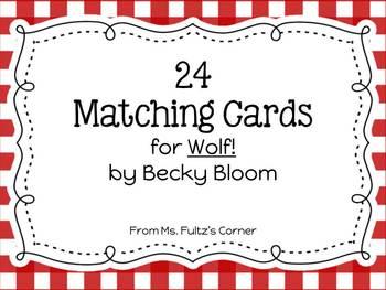 Wolf! Matching Vocabulary Cards