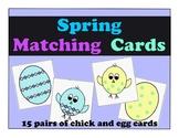 Spring Matching Activity