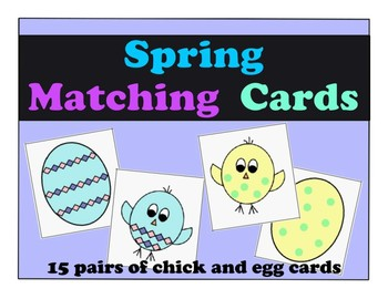 Spring Matching Activity