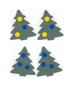 Matching Christmas Trees
