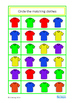 Basic Concepts Matching Clothes and Colors Autism Special Education Speech