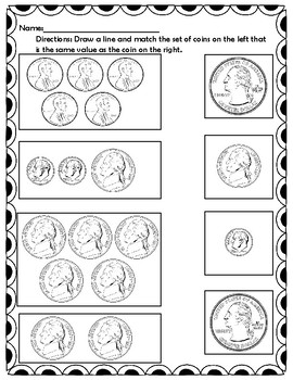 Matching Coin Values