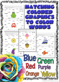 Matching Color Pictures to Color Words