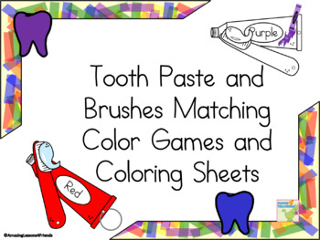 Matching Color Toothbrushes and Teeth