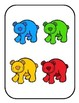 Matching Colors File Folder Game