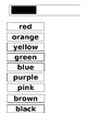 Matching Colors to Color Words Editable