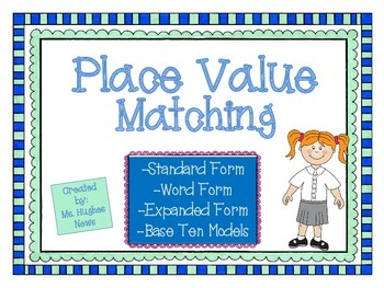 Matching Decimal Place Value Cards