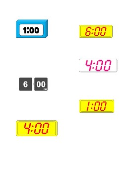 Matching Digital Clocks