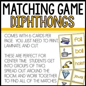 Matching (Dipthongs)