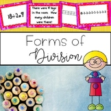 Division Task Cards {Multiple Representations}