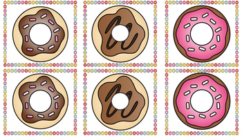 Matching Donuts Memory Game