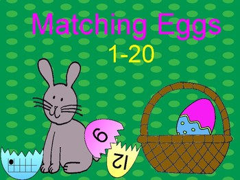 Matching Eggs 1-20