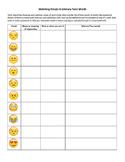 Matching Emojis with Literary Tone Words