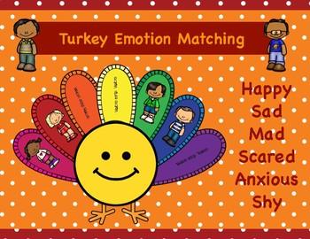 Matching Emotions Turkey Activity
