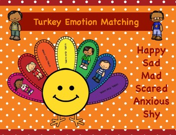Matching Emotions Turkey Activity