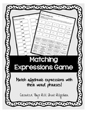 Matching Expressions & Word Phrases