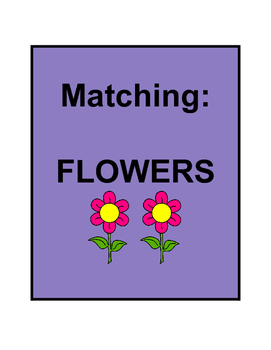 Matching: FLOWERS
