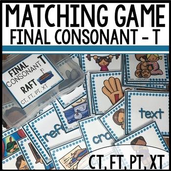 Matching Final Consonants (CT, FT, PT, XT)