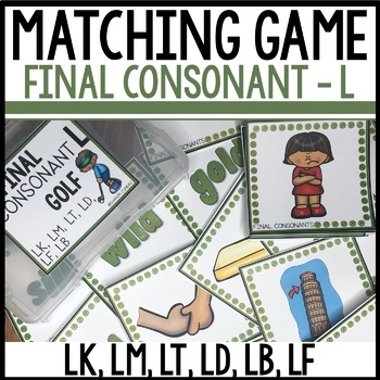 Matching Final Consonants (LK, LM, LT, LD, LB, LF)