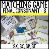 Matching Final Consonants (SK, SP, ST)
