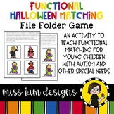 Folder Game: Functional Halloween Matching for Students with Autism