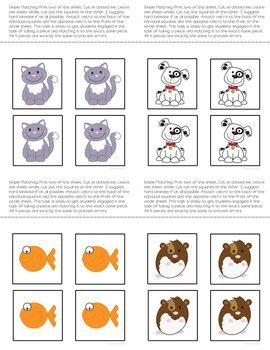 Folder Game: Functional Pet Matching for Students with Autism & Special Needs