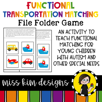 Folder Game: Functional Transportation Matching for Students with Autism