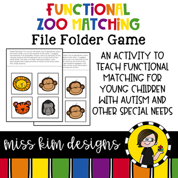 Folder Game: Functional Zoo Animal Matching for Students with Autism
