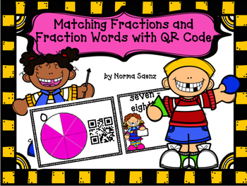 Matching Fractions and Fraction Words with QR Codes