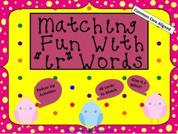 """Matching Fun with """"ir"""" Words (Common Core Aligned)"""