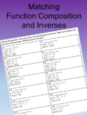Matching Function Composition and Function Inverse