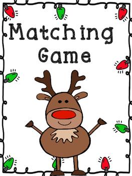 Christmas Matching Game 1.OA.4