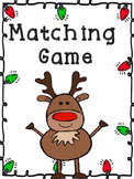 Christmas Matching Game 1.OA.4
