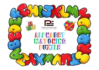 Matching Game / Puzzle - Alphabet/ABC