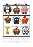 Matching Game / Bingo (Autism, ABA, Literacy, Early Childh