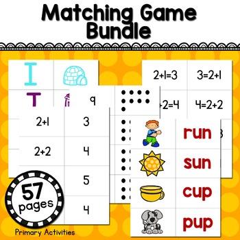 Matching Game Bundle