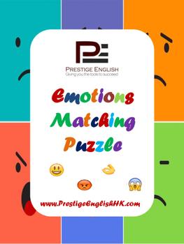 Matching Game - Emotions / Emoji