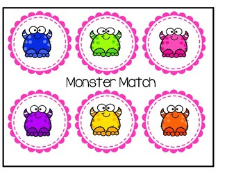 Matching Game For Little Ones