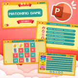 Matching Game For Distance learning (Interactive PowerPoint)