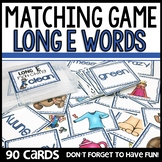 Matching Game Long E VOWEL SOUNDS